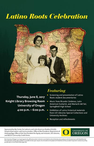 4th Biennial Latino Roots Celebration poster