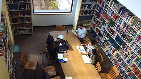 Skidmore Library Reserve A Room