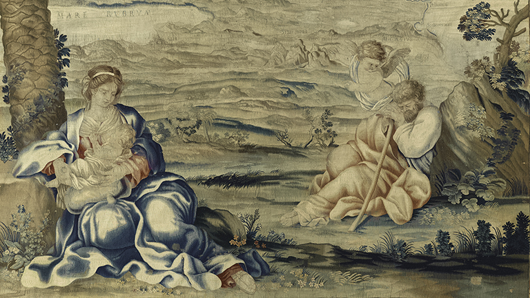 Barberini tapestry detail