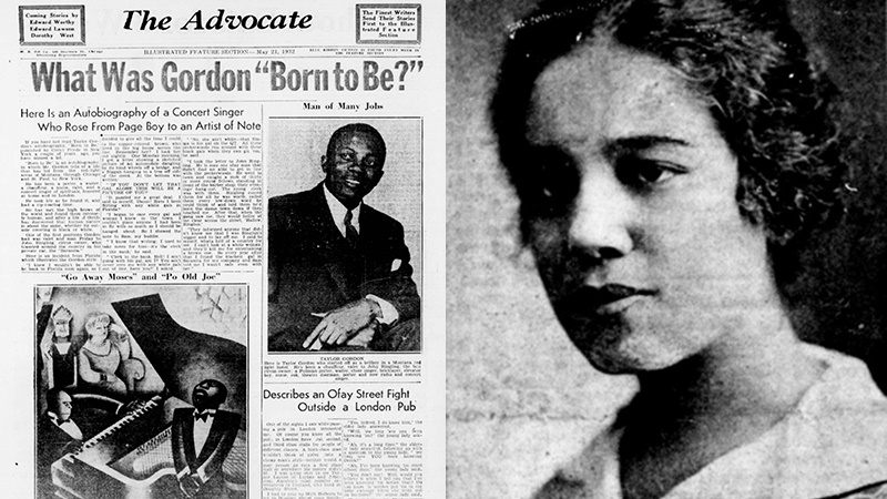 The Advocate newspaper, and editor Beatrice Morrow Cannady