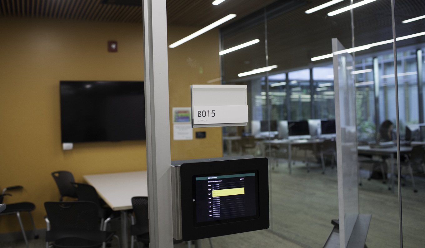 Uo Libraries Reserve A Room