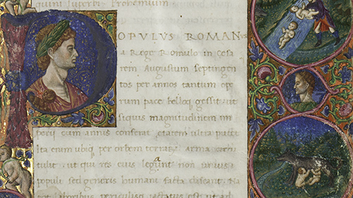The Burgess Collection of medieval manuscripts