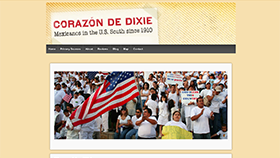 Corazon de Dixie home page