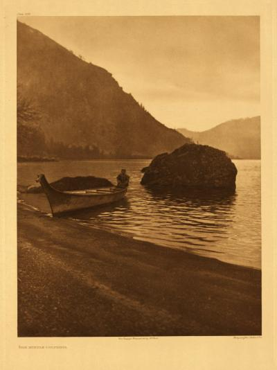 "Edward Curtis, Middle Columbia, no. 288, 1910, photogravure, from ""The North American Indian"""