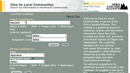 Government Publications website screenshot