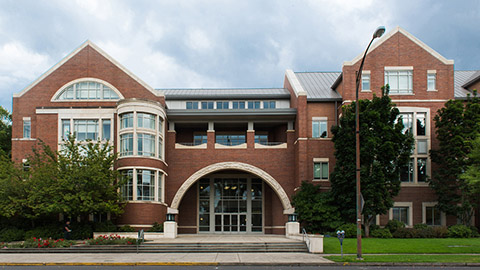 Photo of John E. Jaqua Law Library
