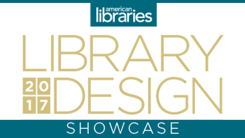 American Libraries' 2017 Library Design Showcase logo