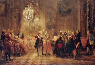 Menzel Flute Concert of Frederick the Great