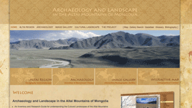 Screenshot of Archaeology and Landscape in the Altai Mountains of Mongolia