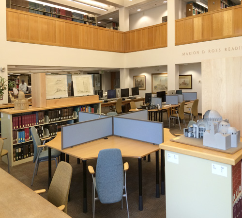 1st Floor Reading Room, Architecture and Allied Arts Library