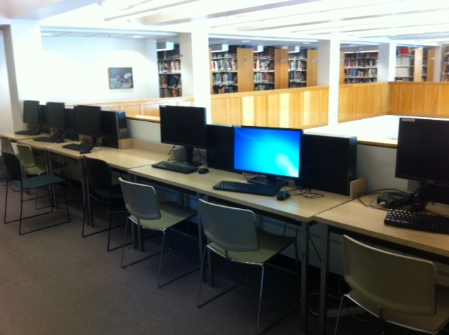 Workstations, Mezzanine, AAA Library