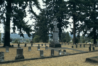 Pioneer Cemetery Architecture Of The University Of Oregon