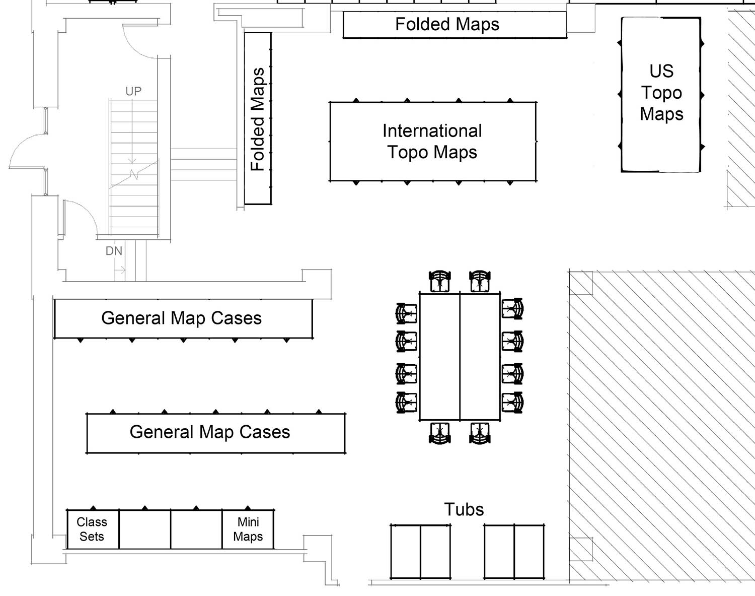 Map Library Floor Plan