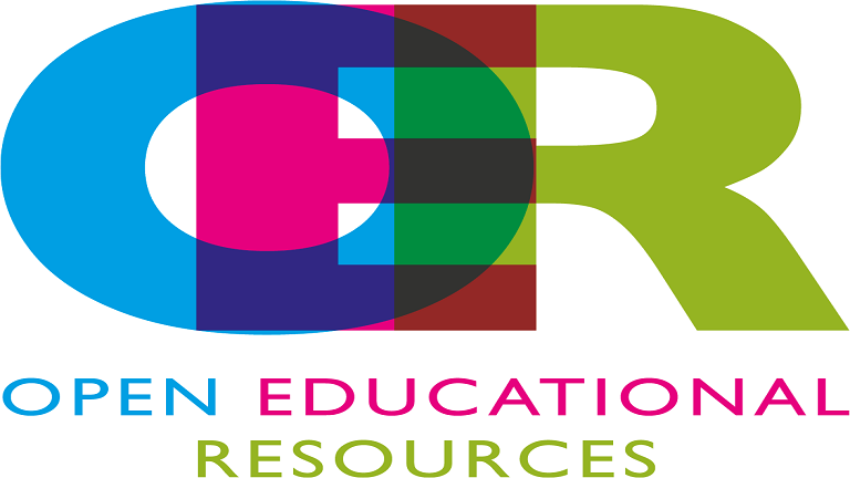 "Open Educational Resources ""RGB"" logo."
