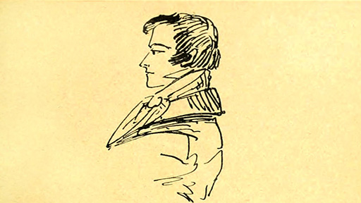 Character sketch of Eugene Onegin by author Aleksandr Pushkin, 1830