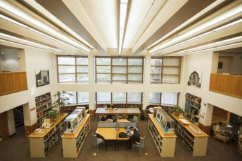 Interior photo of A&AA Library