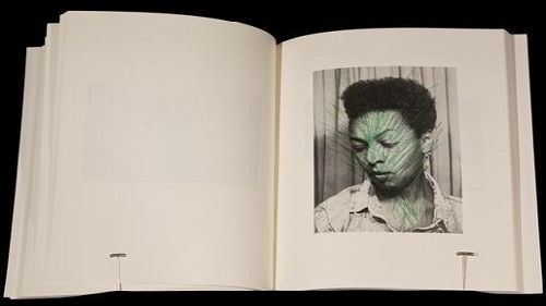 "Page from ""Colored People: A Collaborative Book Project"" by Adrian Piper (1991)"