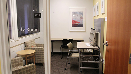 Group and Individual Study Room Reservations