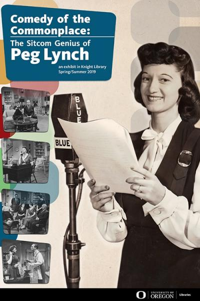 Peg Lynch exhibit poster