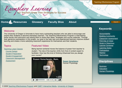 Exemplary Learning Website