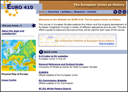 European Union as History Website