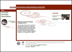 Online English Language Center Website