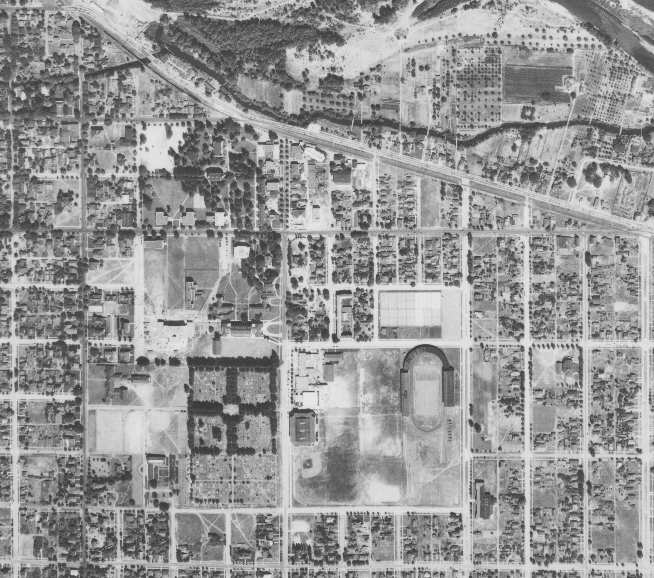 Aerial Photograph Collection UO Libraries - Historical aerial maps