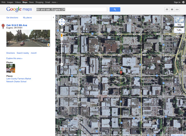 Creating A Simple Site Map In Google Maps