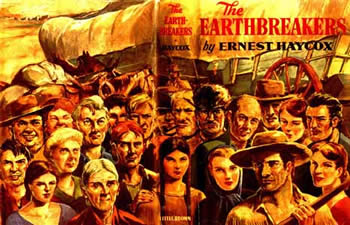 Cover image from Haycox's Earthbreakers book