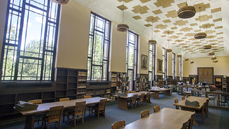 Paulson Reading Room, Knight Library