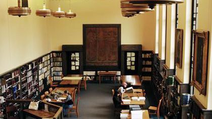 Special Collections and University Archives reading room