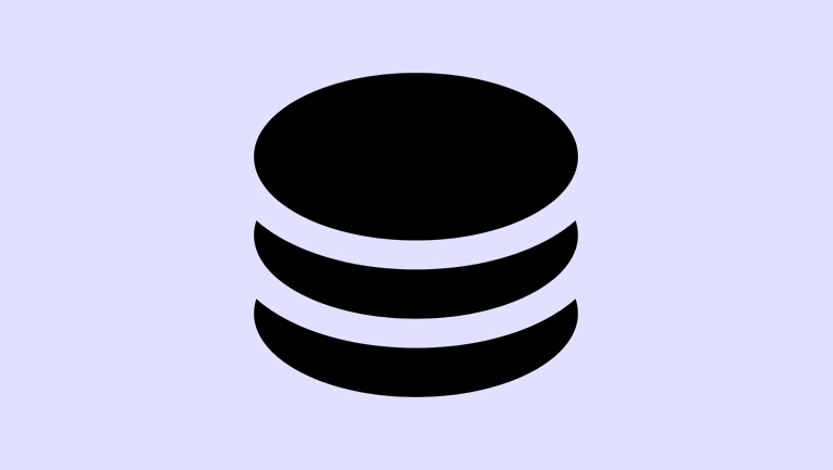 black circles stacked