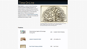 Time Online home page