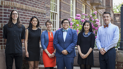 2016 Undergraduate Research Award Winners