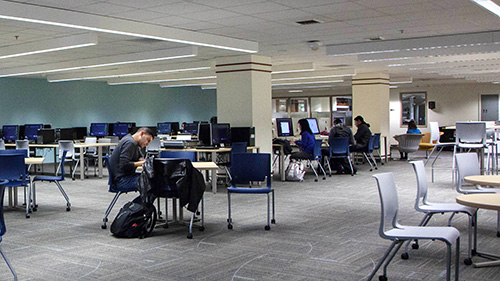 Newly Renovated: Knight Library West Wing
