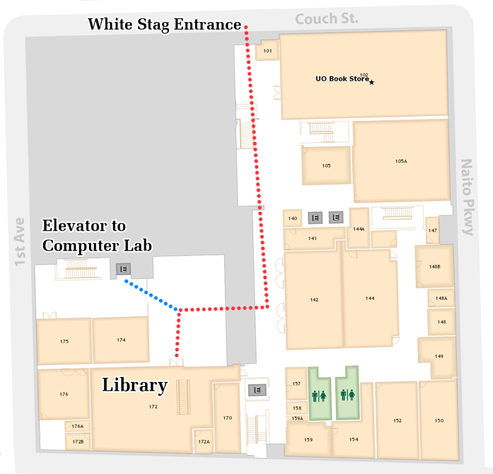 Reservable Rooms   UO Libraries